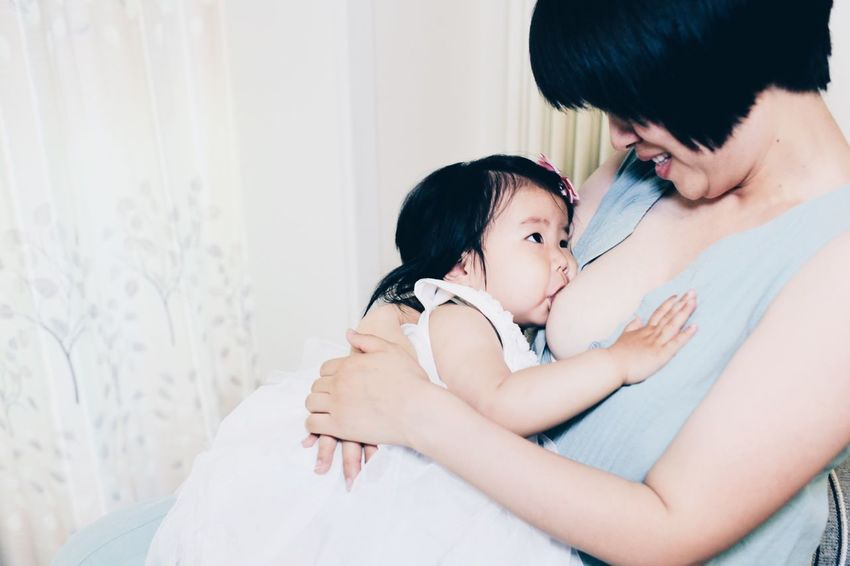 Mother And Daughter Mother Baby Breastfed Baby Breastfeeding Baby Maternal Love Friend Bei jing China