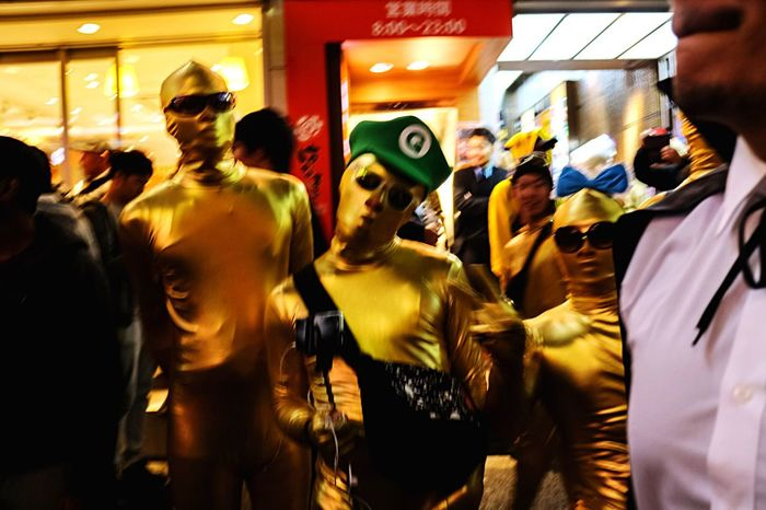 Halloween Costumes Street Photography Halloween2015 EyeEm Best Edits Happy Halloween! Halloween EyeEm Night Lights Night Photography From My Point Of View Halloween Tokyo Street Light And Shadow Halloweenmakeup Streetphotography
