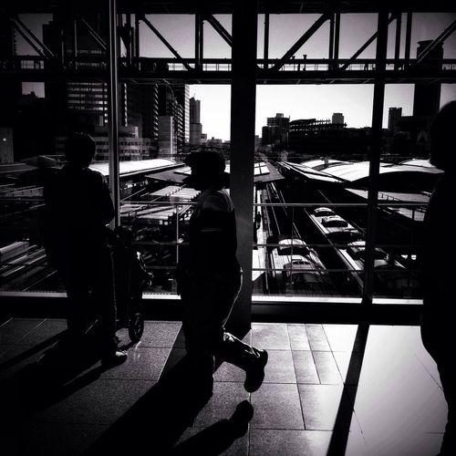 Streetphotography Blackandwhite Streetphoto_bw Osaka Station