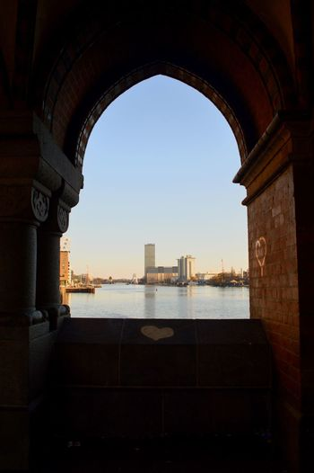 Architecture Built Structure Arch Building Exterior City Travel Destinations History Indoors  No People Day Sky Archway Under The Bridge Berlin Heart Discover Berlin