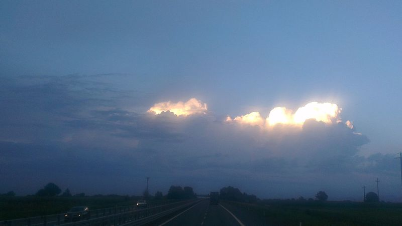 Clouds And Sky On The Road Foto_italiane Foto By Ulk