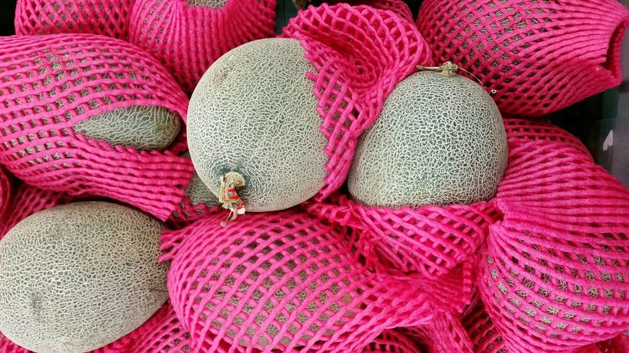 Full Frame Shot Of Melons