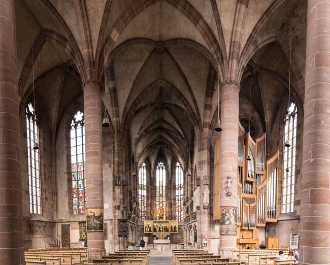 Interior of historic church