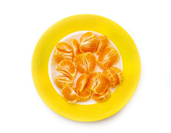 Blood Orange Citrus Fruit Close-up Cross Section Cut Out Day Directly Above Food Food And Drink Freshness Fruit Healthy Eating Indoors  Mandarin No People Orange - Fruit Ready-to-eat Serving Size SLICE Sour Taste Studio Shot White Background Yellow