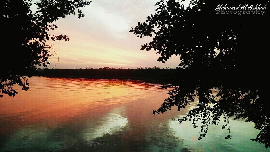 Natural Nilo Nile_view Water Egypt Sunset Naturalism Natural Light
