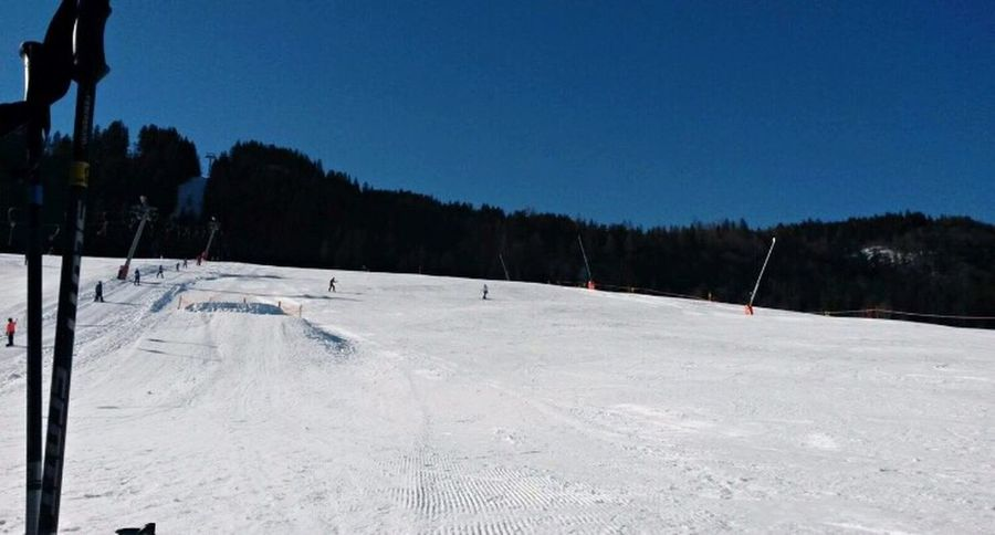 Snow Cold Temperature Winter Tree Nature Outdoors Clear Sky Sport Day Winter Sport Beauty In Nature Landscape No People Sky Snowboarding Verbier Ski Skiing Austria Winter Snow ❄ Mountain Holiday Nature Cold