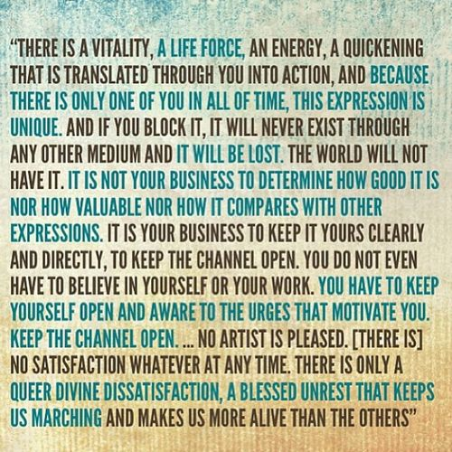 One of my favorite quotes. Marthagraham Quote Favoritequote Inspiring