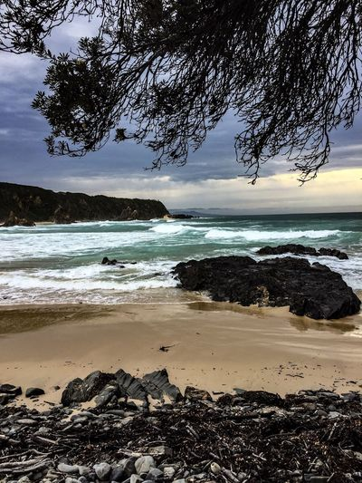 The Secret Beach Photographic Approximation Camping At Mallacoota Southern Ocean Blind Observatory