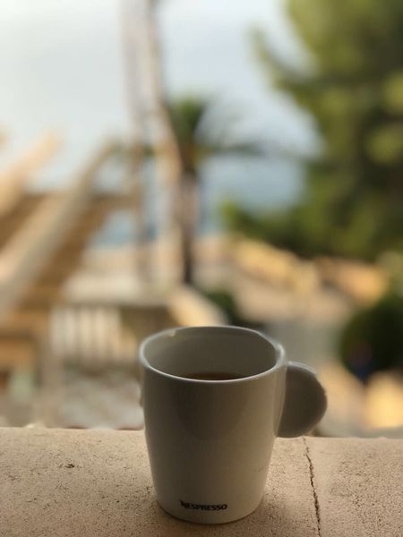 Focus On Foreground Coffee Cup Day