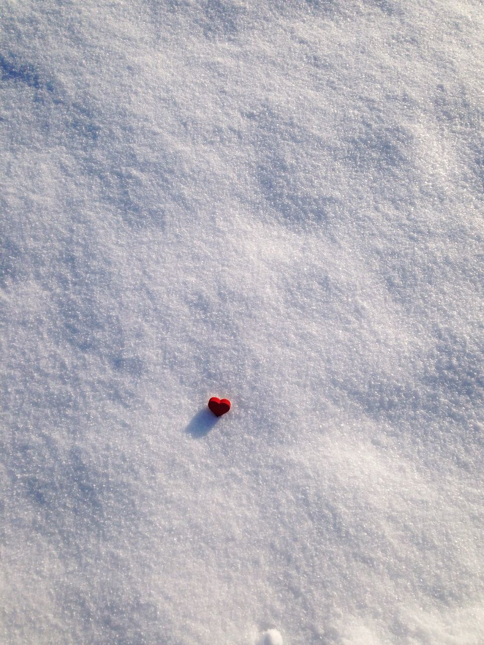 red, no people, day, nature, winter, beauty in nature, snow, land, mountain, cold temperature, high angle view, sky, scenics - nature, outdoors, white color, fruit, tranquility, covering, full frame