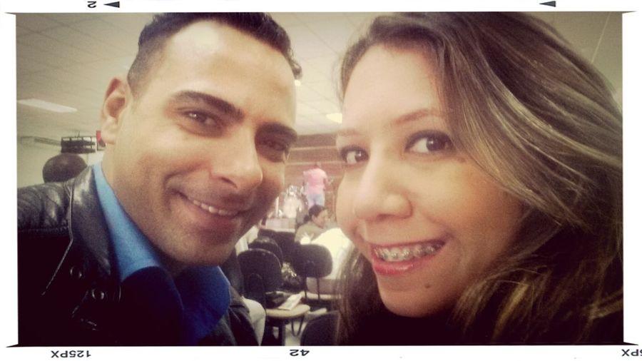 Eu e minha noiva mais linda do mundo. Te amo @tatiamada