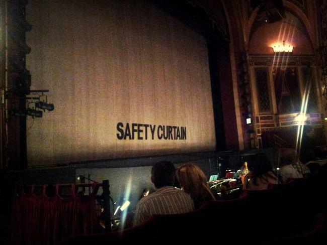 Curtain Theatre Interval