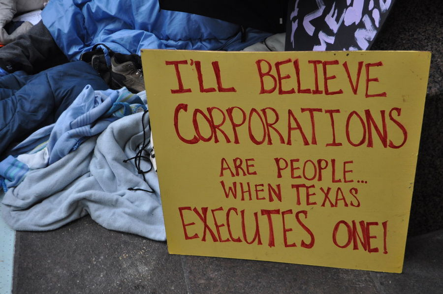 Close-up Freedom Of Expression Freedom Of Speech No People Occupy Wall Street OWS Personal Perspective Personal Thoughts Political Political Statement Protest Signs Signs Text Western Script Yellow