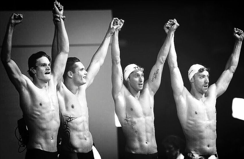 My Idols Swimmer Best Team Ever