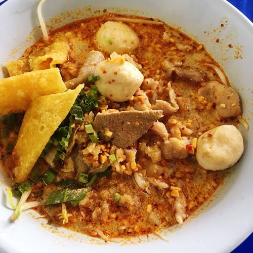 Tomyum noodle Ready-to-eat Food Food And Drink Serving Size Still Life Freshness Plate