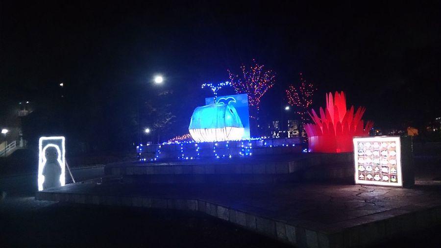 クリスマスイルミネーション Illuminated Christmas Decoration