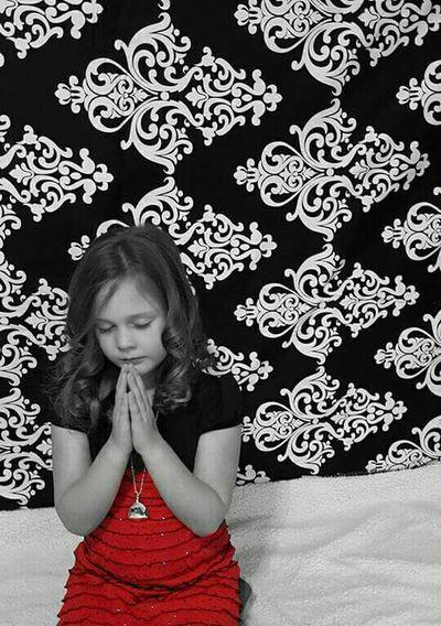 Girl Praise Pray Prayer Praying GodSeeking Thankful Thoughts Christianity Calm Solitude Fashion Modern