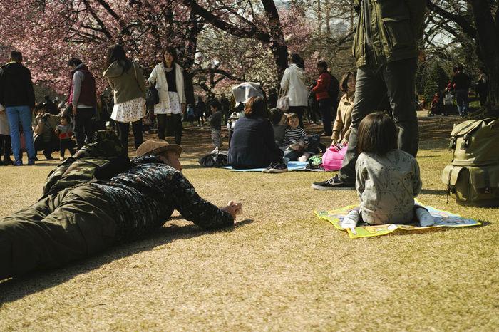 Creeping Forward EyeEm Tokyo MeetUp 12 SHINJYUKU Shinjyukugyoen Sniper Sunny Sunny Day