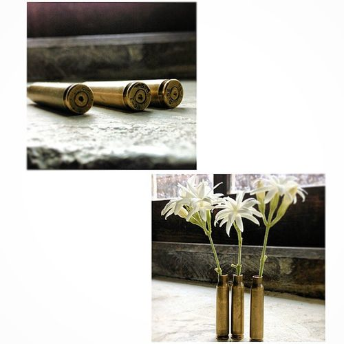 Shells Gunshells Jasmine ShellVase vase createsomething @nocrop_rc rcnocrop