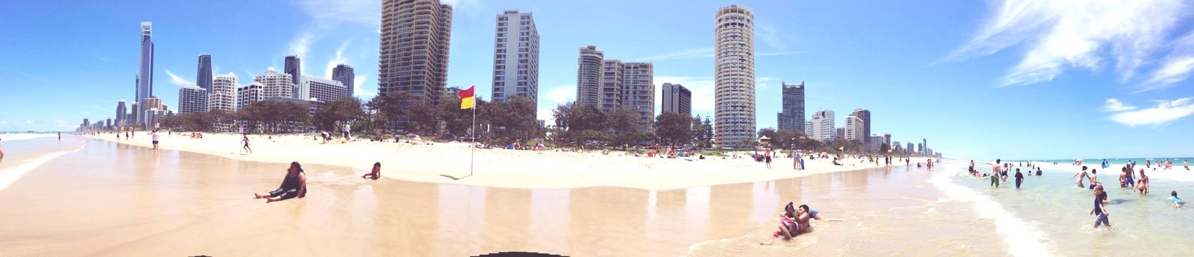 Sunshine Coast Beaches alongside it's beautiful city 🏖🏙 Lifestyles City Summer Coastline First Eyeem Photo