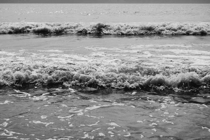 | Black & White Waves - 2015 | Waves Beach Beachphotography Photography Taking Photos Blackandwhite Black And White Contrast