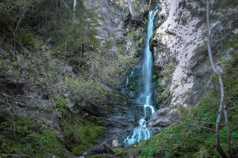 Bösensteiner Wasserfall Nikon D3200 Fantasy Dreamworld Waterfall Wasserfall Water Plant Tree Motion Nature Green Color Beauty In Nature No People Long Exposure Splashing Flowing Water Scenics - Nature Outdoors Land Forest