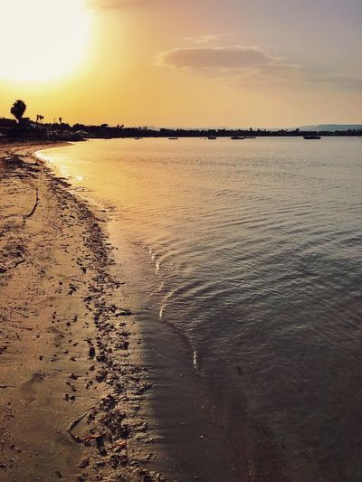 Penisola Della Maddalena Sea Sunset Beach Water Shore Sky Nature Sand Scenics Tranquil Scene Beauty In Nature Tranquility Horizon Over Water Outdoors Silhouette Vacations No People Landscape Day Done That. Lost In The Landscape Gianni Lo Turco