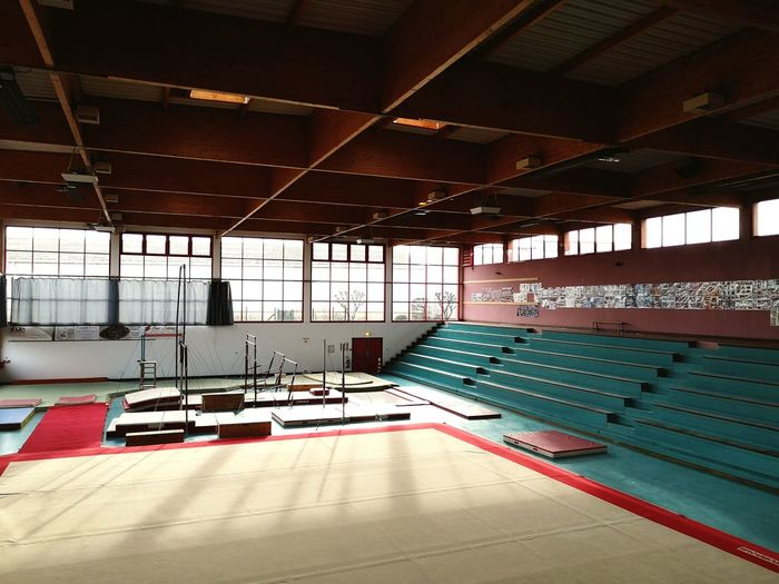 Sports Equipment Sports Gymnastics Gym Modern Architecture Interior Exercise Equipment Exercise Machine Strength Training Exercise Class Health Club Weights Weight Training  Weightlifting Dumbbell Exercise Mat Sport Rowing Handstand  Leotard Treadmill Cross Training Weight Training