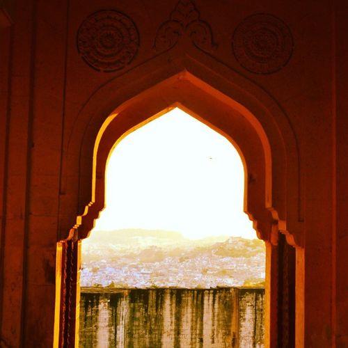 Sunset Bluecity Jodhpur Architecture ;-)