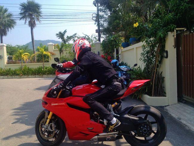 Taking Photos My Friend Ducati