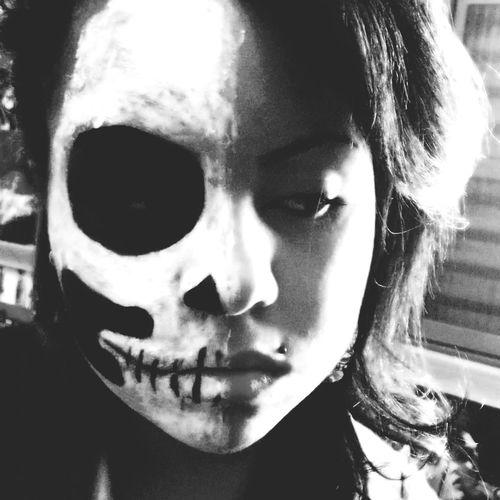 Play White Make up First Eyeem Photo