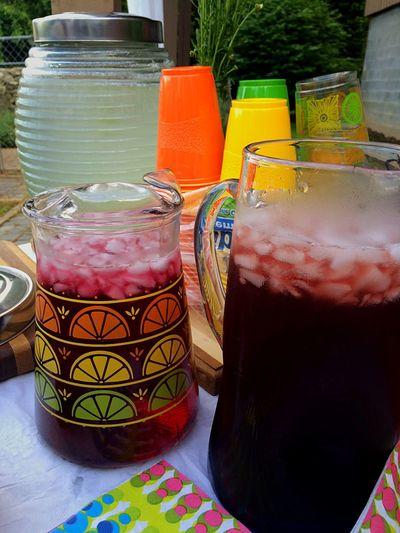 Cool Zone To Cool Drinks Summer Nights Olga's baby shower Hot Summer Lemonade ♥