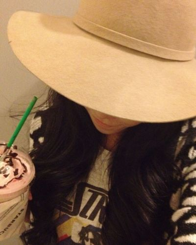 My happy Saturday with Raspberry Truffle Mocha Frappe ;) Enjoying Life Coffee Time Selfie Drinks