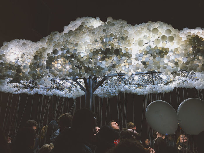 Art Biela Noc Bratislava Bulbs Cloud Night People Slovakia Surprise