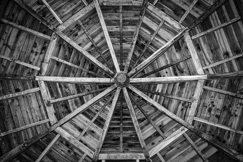 Architecture Architecture And Art Backgrounds Black And White Ceiling Day Dumfries House Estate Full Frame Indoors  No People Pattern Roof Scotland Sony RX1 Timber Woodwork  Workmanship