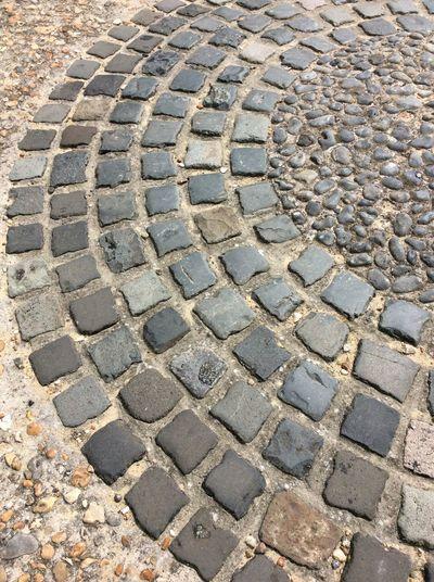 Pathway Stone Slabs Decorative Walkway grey stones Semi Circle man made Stone Textures