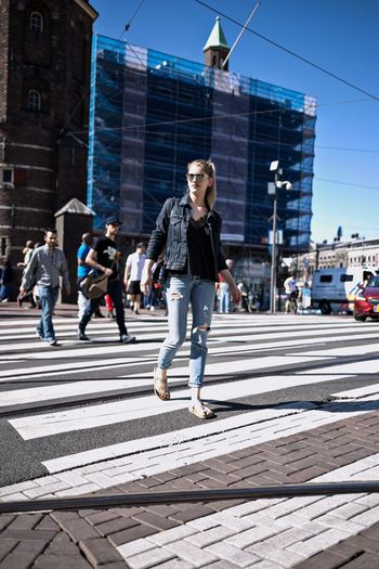 streetphotography Amsterdamcity Amsterdam Streetphotography Street Photography Street Fashion Levis Jeans Clothing Jeans Fashion Photography Fashion Stories Crossroads Busy Street Busy Day Daylight Daytime Photography Girl Power Woman Who Inspire You Women Of EyeEm Womanofstyle Full Length Men Shibuya Ward The Street Photographer - 2018 EyeEm Awards The Modern Professional