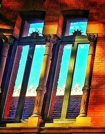 Window Arquitecture ArquiteturaeUrbanismo Station Atocha Madrid Spain