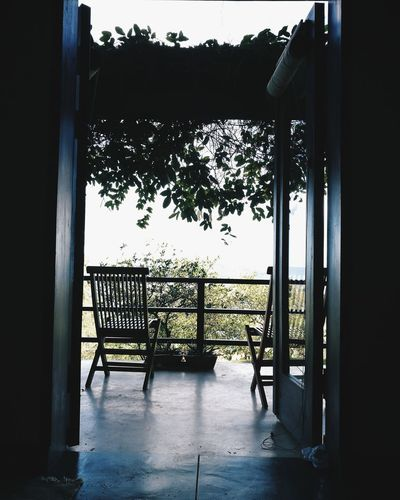 """Perfect """"waking up"""" view. Travel The World Mauritius Travel Destinations Architecture Door Window Outdoors Discover  No People EyeEm Best Shots EyeEm Best Edits Outdoor Photography EyeEm Scenics Beauty In Nature People And Places Landscape Tranquility Mountain Idyllic Calm"""