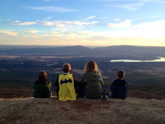 Mount Magazine Outdoors Scenics Rear View Mountain Range Beauty In Nature Mountain