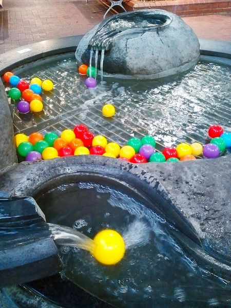 Public Places Public Art ArtWork Water Water_collection Streetphoto_color Fountain Balls Streetphotography No People Multi Colored Public Artwork Waterfountain PublicArtworks WaterFountains Balls Deep Fountain, Water, Spurt, Lights, Round, Circle, WaterFeatures Waterfeature Water Features Balls! Water Feature Burnside Village Ballsdeep Colored Balls Coloredballs Water_collection Street Photography Waterfall Photography Balls On Water