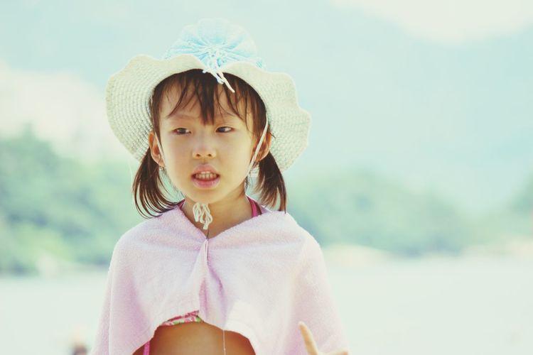 HongKong Beachphotography Little Girl Me Lovely Daughter