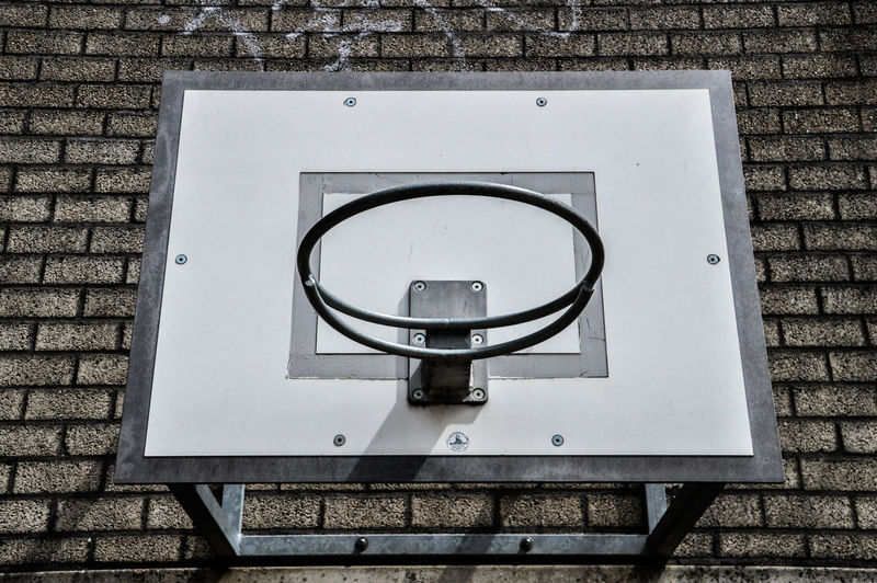 Basketball Hoop Hanging Hoop Netherlands Wall Basketballhoop Baskett Equipment Sport Sports Stone