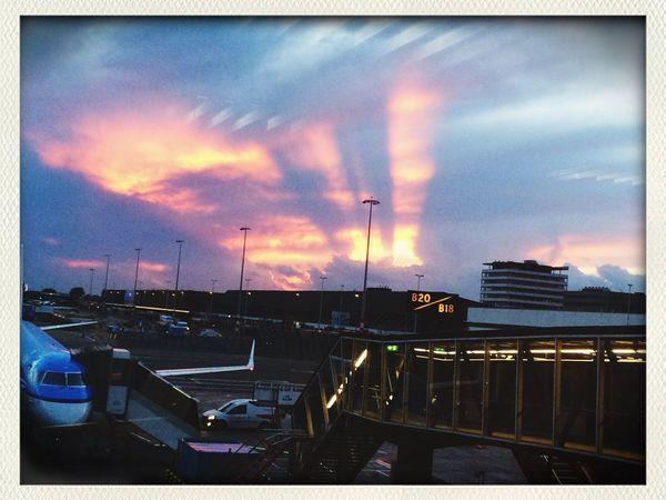 Amsterdam Beat-fighter Sunset Netherlands