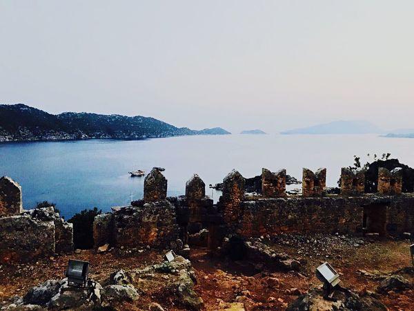 Simena Simenakalesi Arkeoloji Turkiyekareleri Demreantalya Nature Day Architecture Kalekoy