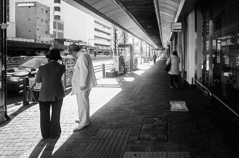 Ricoh GR21 Film Kodak BW400CN Street Photography
