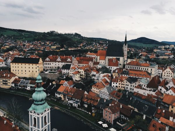 Český Krumlov Cityscape Architecture Travel Destinations Picturesque Memories Travel Photography Breathtaking View From The Top Picturesque Village Fairytale Town