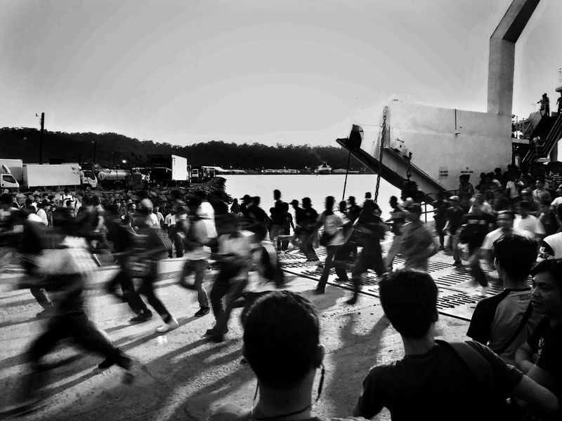 Large Group Of People Real People Blurred Motion Crowd Men Leisure Activity Women Day Motion Lifestyles Architecture Outdoors People Adult Streetphotography Documentary