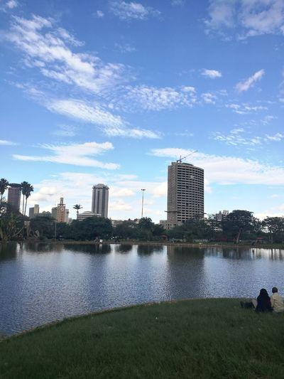 Water Outdoors Cityscape Urban Skyline Nairobi Kenya 254 Nairobae UhuruPark