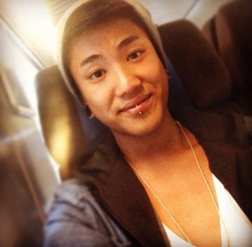 new piercing 'eskimo' Piercing Hi! That's Me Asian